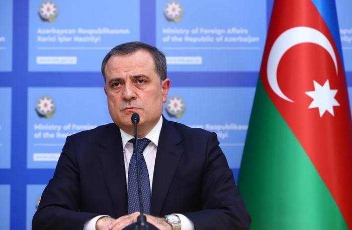 """Ceyhun Bayramov: """"Çox etnikli cəmiyyət olaraq daha yaxşı bir gələcək qurmağa sadiqik"""""""