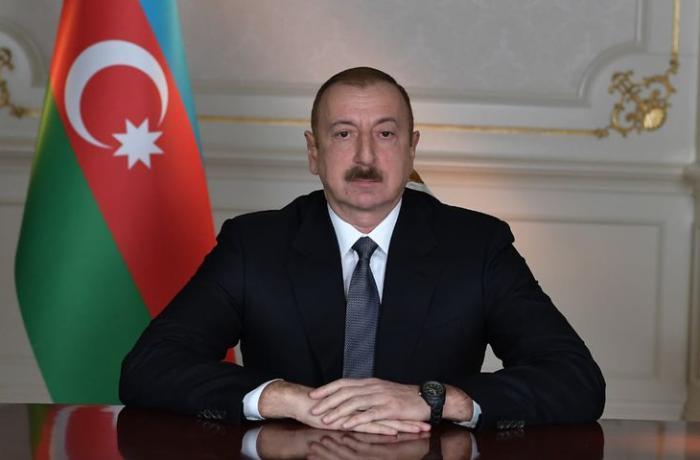 İlham Əliyev Volodimir Zelenskiyə başsağlığı verdi