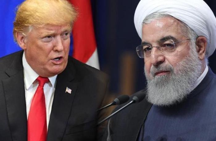 """İran prezidenti: """"Allaha şükürlər olsun ki, Trampın şərindən xilas olduq"""""""