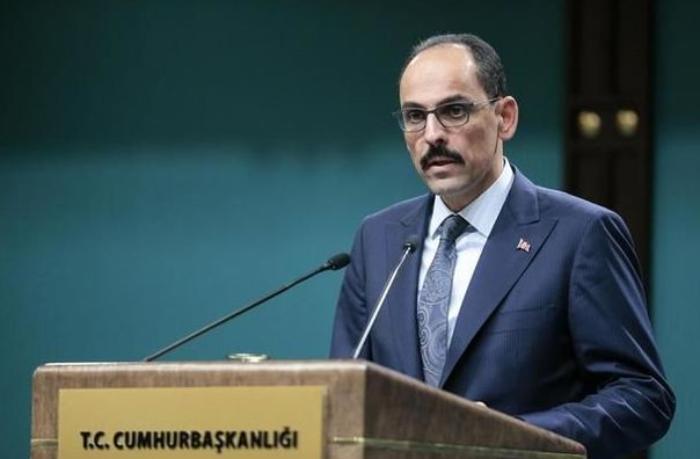 """Ərdoğanın sözçüsü: """"Ermənistandakı dövlət çevrilişi cəhdini qınayırıq"""""""
