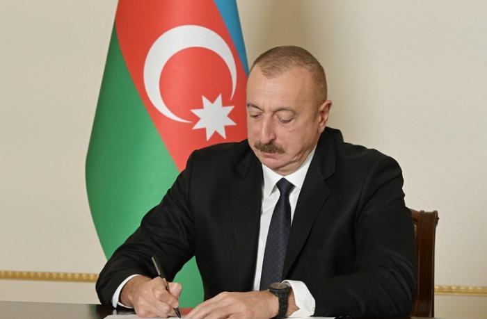 Prezident Şuşa ilə bağlı iki sərəncam imzaladı