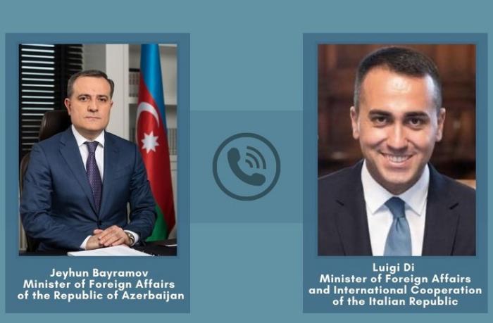 Azərbaycan və İtaliya XİN başçıları arasında telefon danışığı oldu