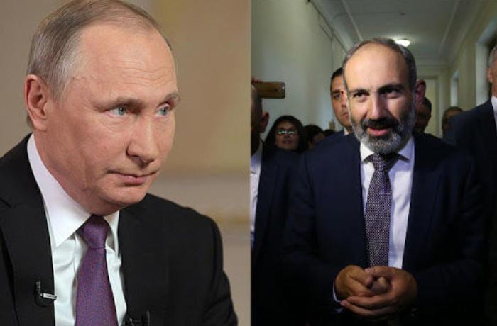 Putinlə Paşinyan arasında telefon danışığı baş tutdu