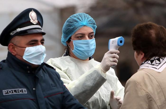 Ermənistanda daha 442 nəfər koronavirusa yoluxdu