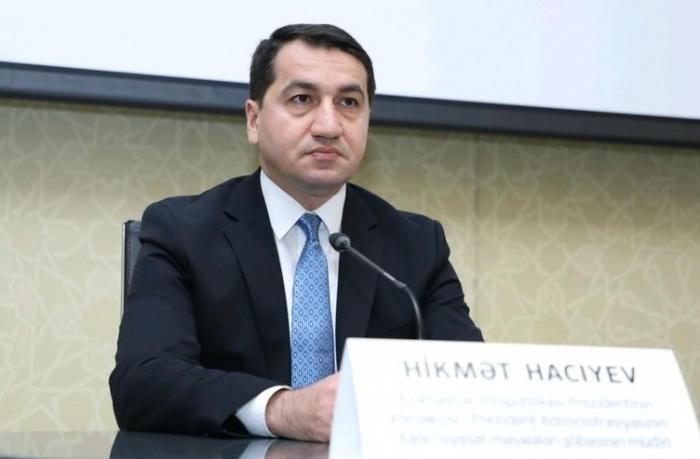 """Hikmət Hacıyev """"Yüksəliş"""" müsabiqəsilə bağlı vebinar təşkil etdi"""
