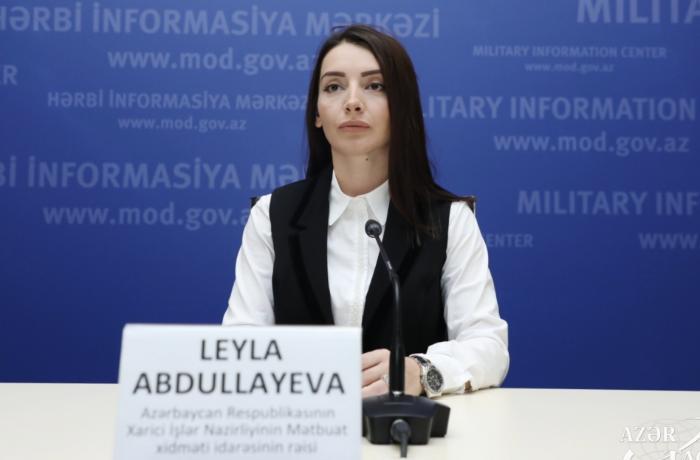 Leyla Abdullayevadan Ağdam paylaşımı — VİDEO
