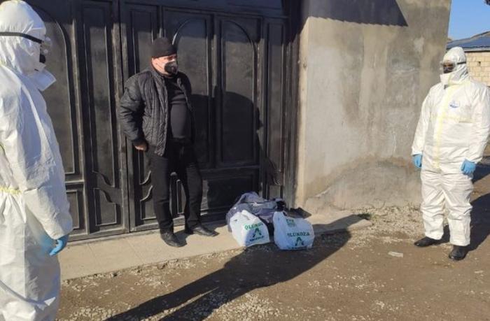"""Şabranda yaşadığı yeri tərk edən """"COVİD-19"""" xəstələri aşkarlandı — FOTO"""