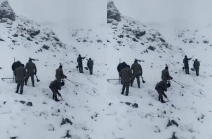 Kəlbəcərdə dağlar minalardan təmizlənir — VİDEO