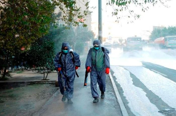 Bakıda 550 küçə dezinfeksiya edildi — FOTO