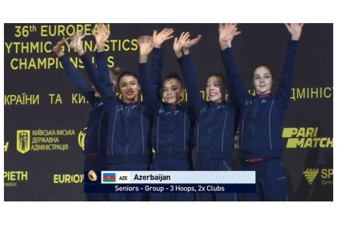 Azərbaycan millisi Avropa çempionatında üçüncü medalı qazandı — VİDEO