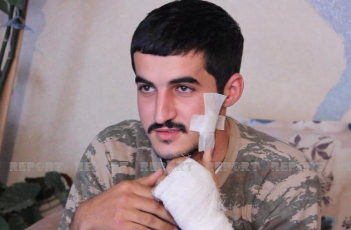Ağdaş döyüşlərdə bir neçə dəfə yaralanmış qazisini qəhrəman kimi qarşıladı