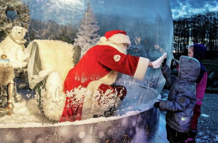 Britaniyada Santa Klausa maska taxmamağa icazə verildi