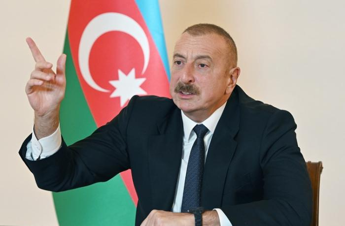 """Prezident: """"Xarici hərbçilərin Azərbaycan ərazisində olması keçici haldır"""""""