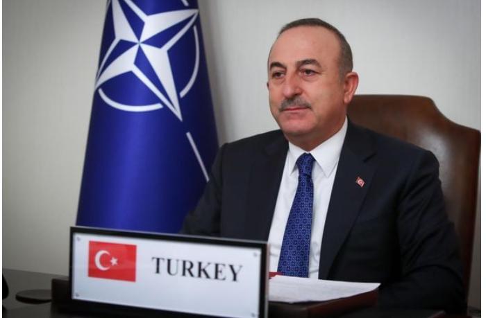 Çavuşoğlu NATO XİN rəhbərləri ilə Qarabağı müzakirə etdi — FOTO