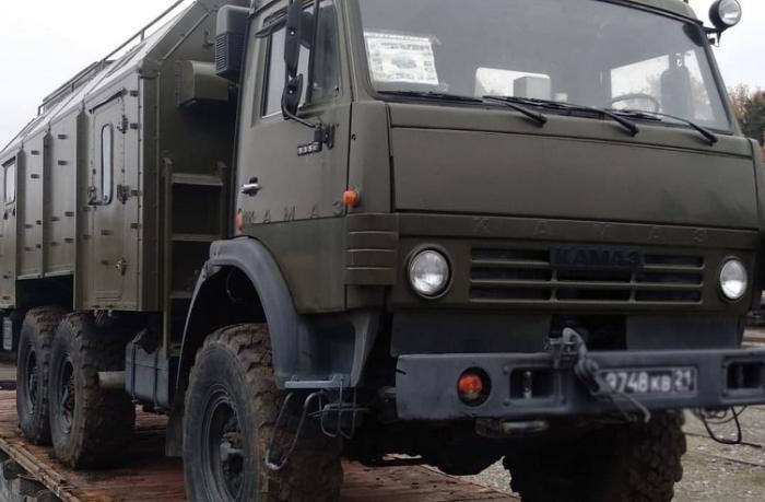 Sülhməramlı kontingent üçün maddi-texniki təminat vasitələri gətirilir — VİDEO