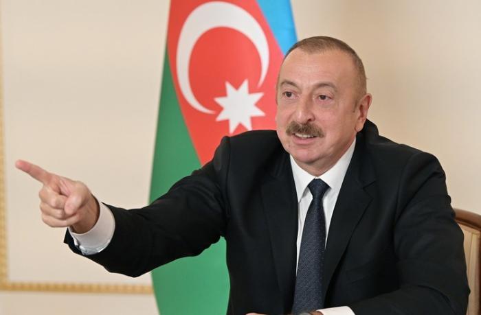 """Prezident: """"Onlar elə bildilər ki, bizimlə 1992-ci ildəki döyüşü aparacaqlar"""""""