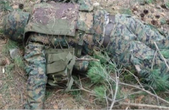 Füzulidə erməni hərbçinin meyiti aşkarlandı