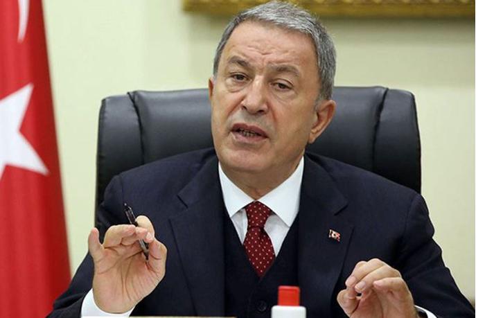 """Hulusi Akar xüsusi təyinatlılarla iftar süfrəsində """"Qarabağ Azərbaycandır"""" dedi — VİDEO"""
