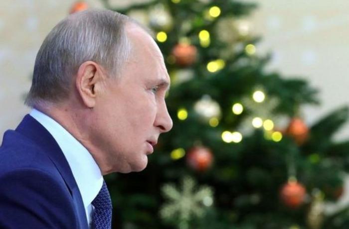 Putin Yeni ildə nə arzuladığını açıqladı