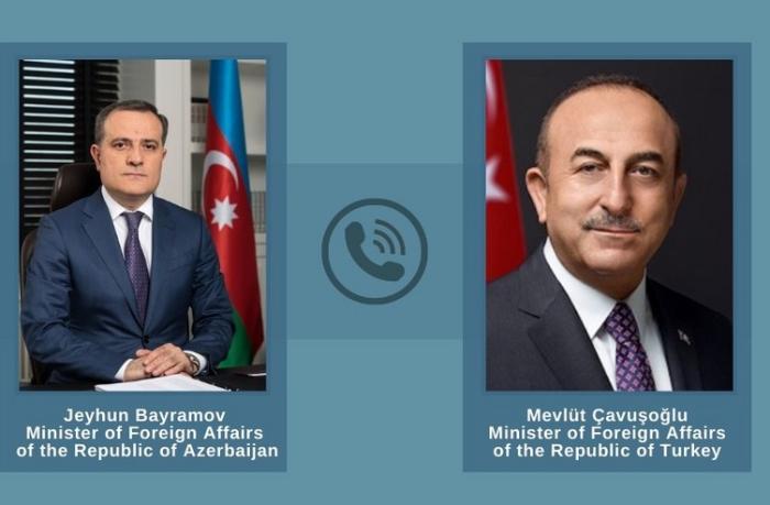 Ceyhun Bayramov Mövlud Çavuşoğluya təşəkkür etdi