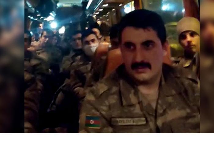 Hərbçilərimiz Türkiyədə belə qarşılandılar — VİDEO
