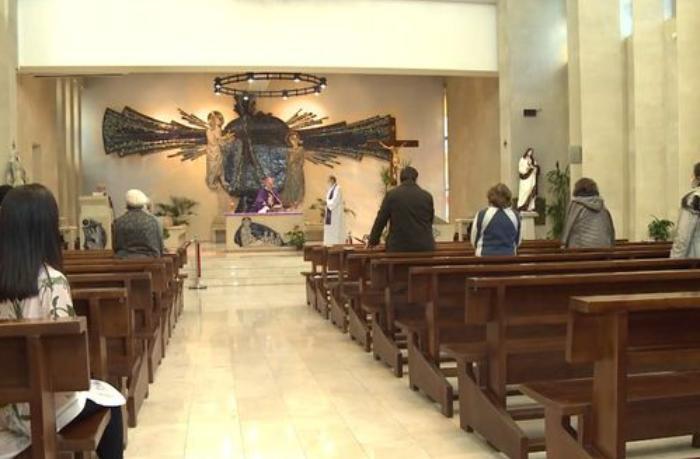 Bakıda katolik kilsəsində şəhidlərimiz anıldı — VİDEO