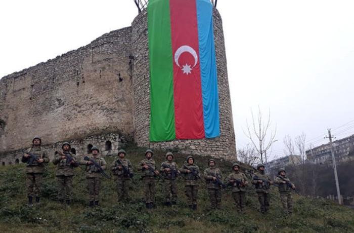 Azərbaycan Ordusunda Vətən müharibəsi şəhidlərinin xatirəsi anıldı — VİDEO