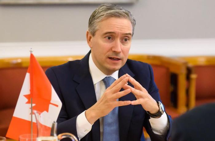 Kanadanın xarici işlər naziri Qarabağ problemi barədə məlumatlandırıldı — FOTO