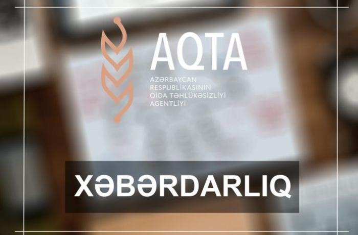 AQTA-dan bitki mənşəli virusların yayılması təhlükəsi ilə bağlı XƏBƏRDARLIQ