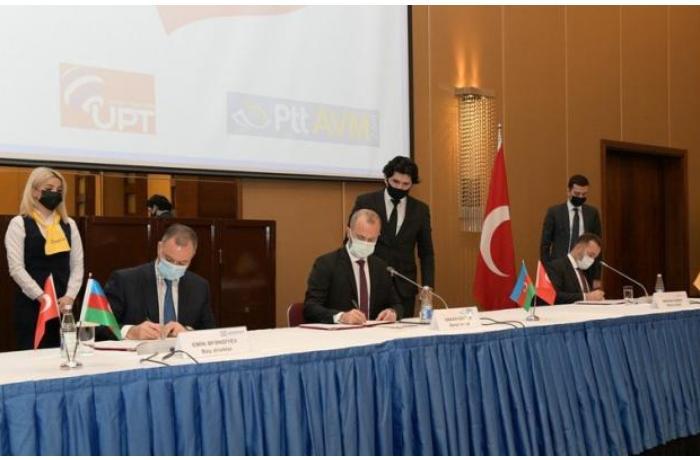"""""""Azərpoçt""""la Türkiyə Poçtu müqavilələr imzaladı — FOTO"""