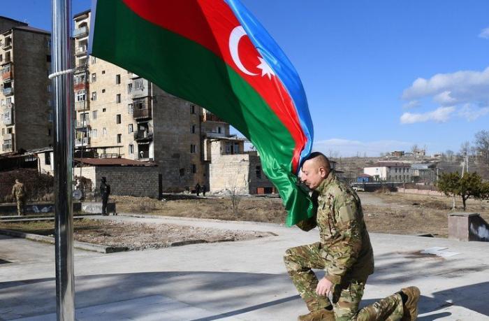 İlham Əliyevin Şuşaya səfəri Türkiyə mediası tərəfindən geniş işıqlandırıldı — FOTOLAR
