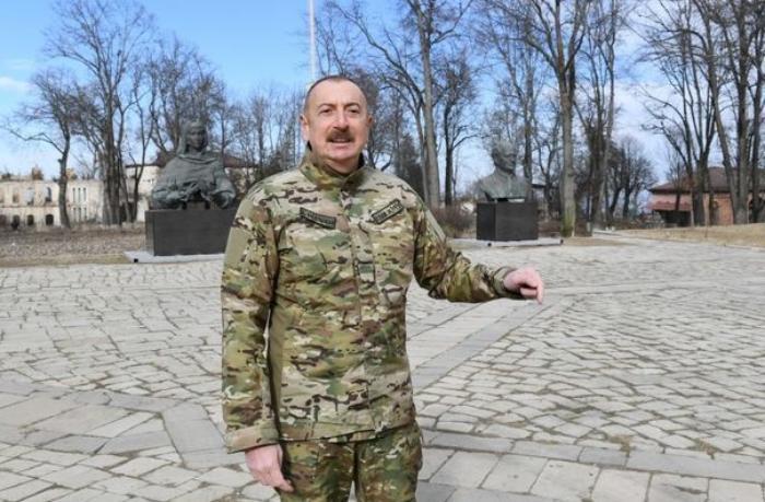 """İlham Əliyev: """"Cıdır düzündə toy-bayram olacaq""""— VİDEO"""