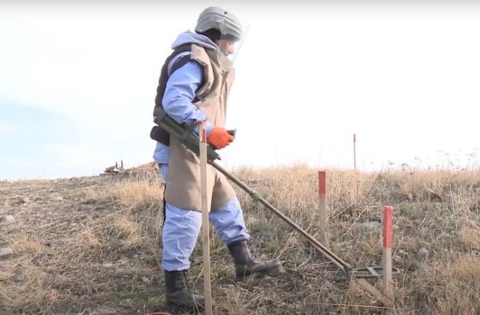 Talış və Suqovuşan minalardan təmizlənir — VİDEO