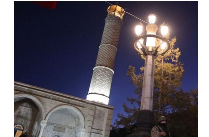 Şuşa şəhəri elektrik enerjisi ilə təchiz edildi
