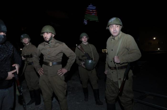 AZTV-də 20 Yanvar qırğını ilə bağlı filmin çəkilişləri başlandı — FOTO