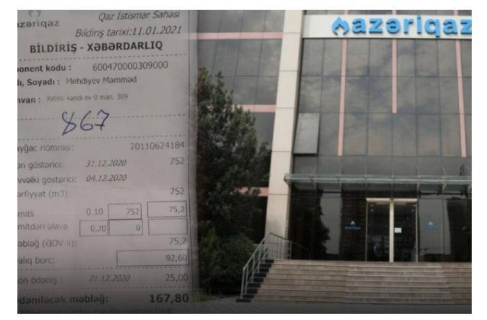 """""""Azəriqaz""""ın yeni sayğacları vətəndaşları aldadırmı? — ŞİKAYƏT + RƏSMİ AÇIQLAMA"""