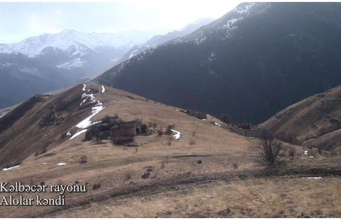 Kəlbəcərin Alolar kəndi — VİDEO
