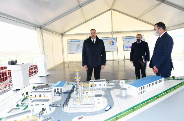 Prezident Sumqayıtda iki zavodun təməlini qoydu, açılış etdi — FOTOLAR