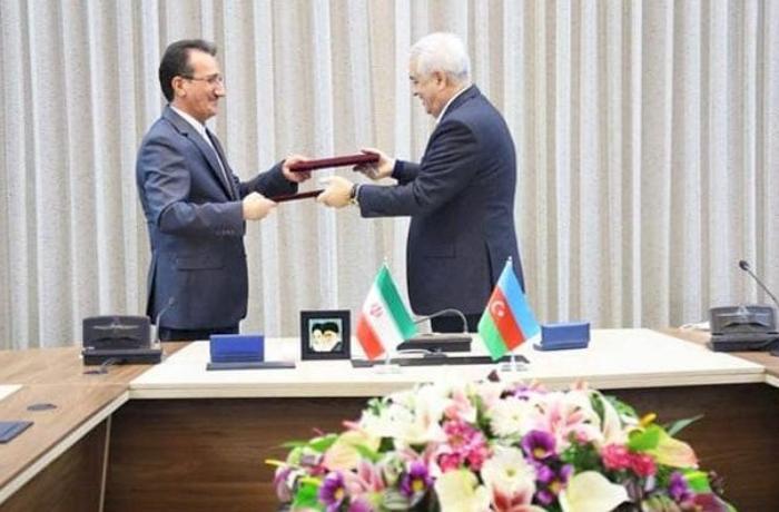 Azərbaycan və İran arasında dəmir yolları üzrə əməkdaşlıq sazişi imzalandı