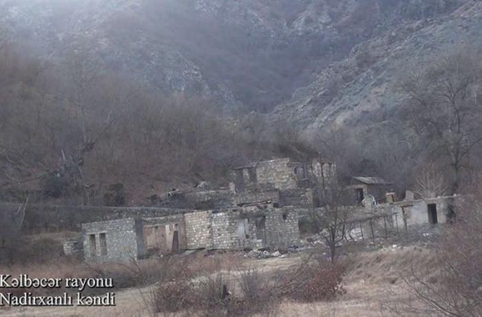Kəlbəcərin Nadirxanlı kəndindən görüntülər — VİDEO