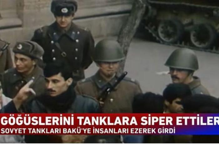 """""""Haber Global"""": """"Azərbaycan üçün həm hüznün, həm də qəhrəmanlığın tarixi"""" — VİDEO"""