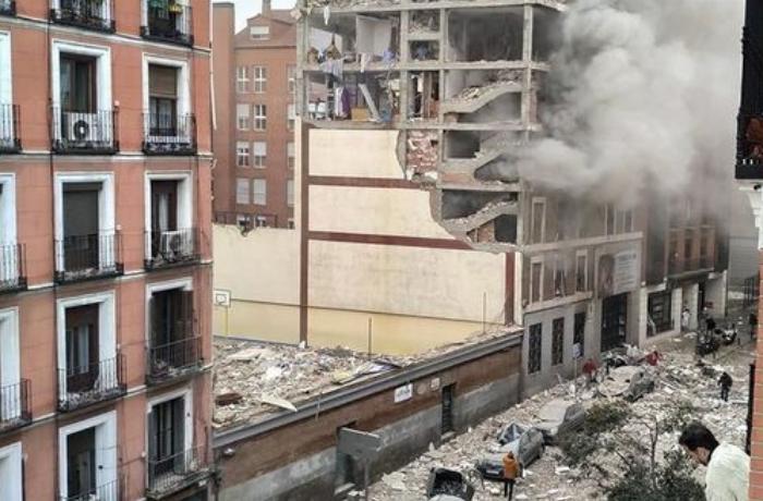 Madriddəki partlayışın səbəbi və xəsarət alanların sayı müəyyənləşdi — YENİLƏNİB+VİDEO