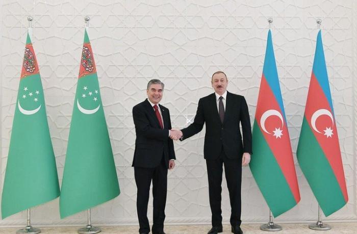 Azərbaycan və Türkmənistan prezidentləri videokonfrans formatında görüşdü