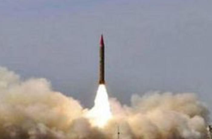 Pakistan ballistik raketini sınaqdan keçirdi