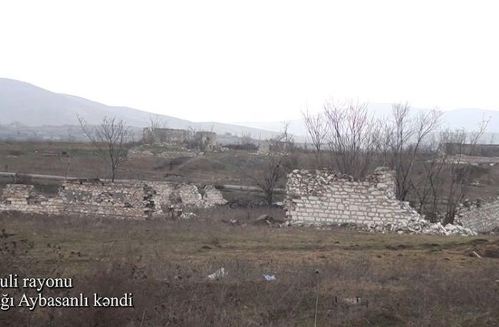 Füzulinin Aşağı Aybasanlı kəndindən görüntülər — VİDEO