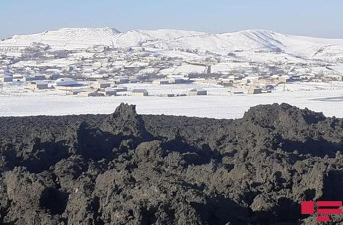 Quşçu vulkanın püskürməsi nəticəsində 30 m-lik çatlar əmələ gəlib