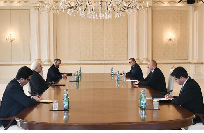 İlham Əliyev İranın xarici işlər nazirini qəbul etdi — YENİLƏNİB