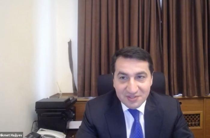 """""""Azərbaycan-Türkiyə münasibətlərinin gələcək 10 ili"""" adlı vebinar keçirildi — FOTO"""