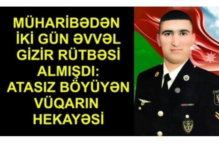 Atasız böyüyən şəhid Vüqar Məmmədovun hekayəsi — iki övladı əmanət qaldı (VİDEO)