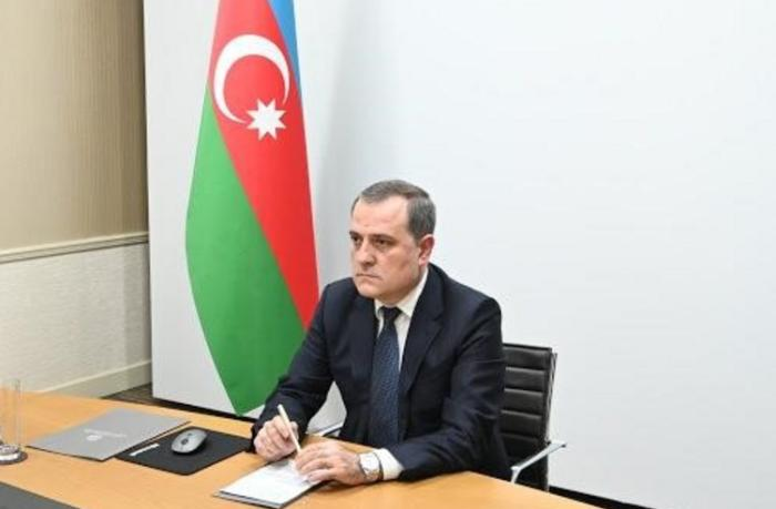 """Ceyhun Bayramov: """"Ermənistanın davranışı bəyanatın reallaşmasına mane olur"""""""